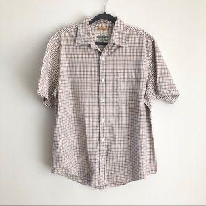 TIMBERLAND Short Sleeve Button Down Shirts
